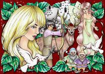 Fairytale II by Viorica (Violet) Vandor