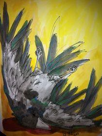 Dead crow by Izabelle Blåholtz