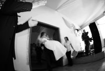 blurred wedding von tabson