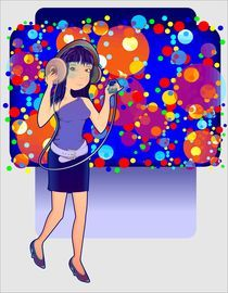 Disco Woman on Ipod by Erick Sulaiman