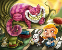 Alice in Wonderland by Renan Lima