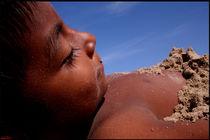Wittos (Blue) Little Indian Sand Boy  by David Hernández-Palmar