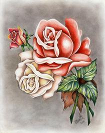 Roses by Viorica (Violet) Vandor