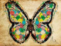 Pop butterfly von Claudia Alegre