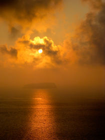 Santorini Sunset by Julia Dysart