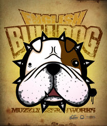 English Bulldog by Vana Muzzly