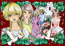 Fairytale III by Viorica (Violet) Vandor