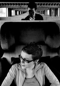 Train travel by Ivan Aleksic