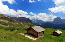 Blick zur Sella by Wolfgang Dufner
