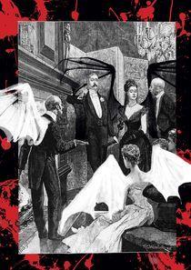 Vampire evening by Sylvie Denis