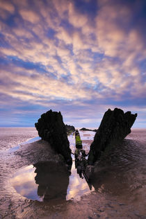 Shipwreck, Berrow, Somerset by Craig Joiner