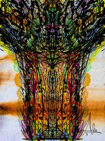Ink Géiser by Claudia Alegre