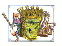 Skulls, foxes and octopuses by Marcello Siragusa