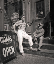 Cigar Store: NYC by Ron Greer