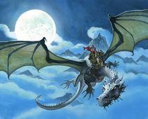 Dragonrider by christian-hoejgaard