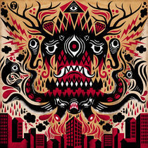 City Monster von Tomas Ives