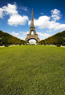 Eiffel Tower by Domen Colja