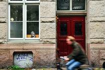 Man on a Bike Amsterdam, Holland von Brian Scott