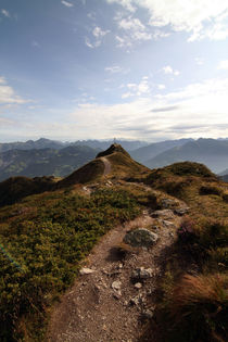 Gipfelkreuz - Alpen - Panorama - Gebirge by Jens Berger