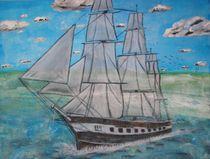 Segelschiff by Ka Wegner
