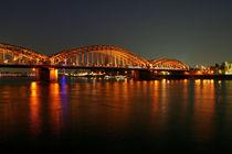 Köln bei Nacht by Nora Goerne