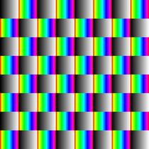 2 gradient chessboard by Chandler Klebs