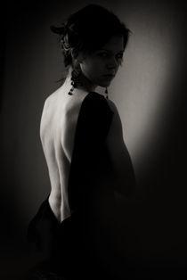 woman in the shadow by Nataliia Kashevko