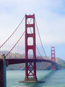 Golden Gate Bridge in San Francisco von Gordon Warlow