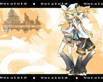 Vocaloid - Kagamine by balrond