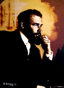 Gustav Klimt von Bela Manson
