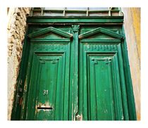 Green Doors by jahsi