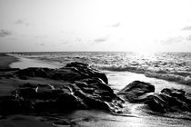 Rocky beach by Ervin Bartis