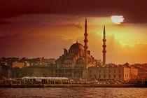 Istanbul sunset von Anna Minina