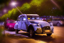 retro citroen by Anna Minina