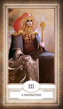 TAROT - card # 03 - a imperatriz by Anderson Almeida