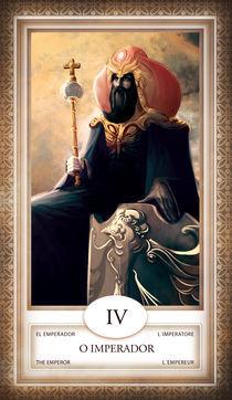 TAROT - card # 04 - o imperador by Anderson Almeida