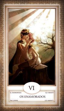 TAROT - card # 06 - os enamorados by Anderson Almeida