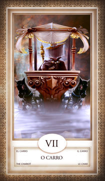 TAROT - card # 07 - o carro by Anderson Almeida