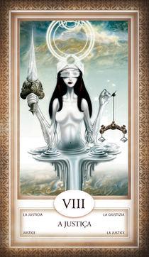 TAROT - card # 08 - a justiça von Anderson Almeida