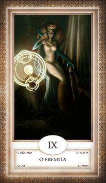 TAROT - card # 09 - o eremita von Anderson Almeida
