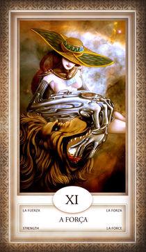 TAROT - card # 11 - a força von Anderson Almeida