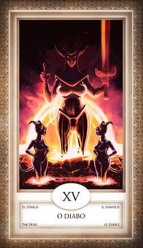 TAROT - card # 15 - o diabo by Anderson Almeida