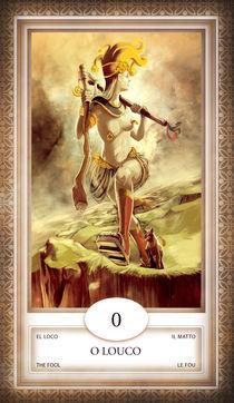 TAROT - card # 00 - o louco by Anderson Almeida