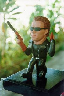 Inspired Terminator Sculpture by Joaquin Carrasquilla