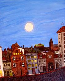 Abends in der Altstadt von Jan Siebert