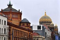 Neue Synagoge - Oranienburger Strasse by captainsilva
