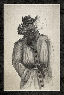 rhino detective von Jaroslaw Wasilewski