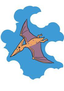 Pteranodon von Jaroslaw Wasilewski