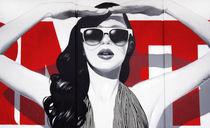 Enomity Girl - detail von Enormity Art