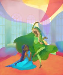 Dancing for you by Carmen Hevia